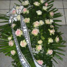 Usługi pogrzebowe Katowice - wieniec